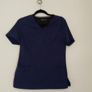 SCRUB set + Navy Blue Elle brand